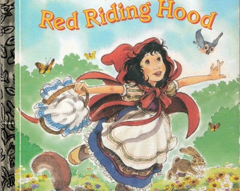 Little Red Riding Hood Vintage Little Golden Book by Mabel Watts Illustrated by Joe Ewers