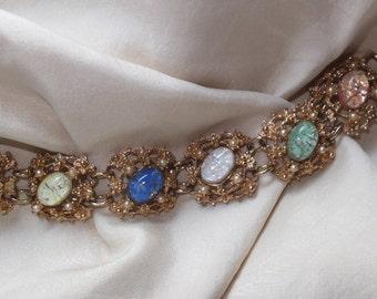 Vintage Signed Judy Lee Bracelet