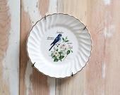Vintage Idaho Souvenir Porcelain Wall Hanging Plate - D. Rudeman Signature