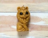Vintage Lion Candle - Decorative Candle