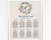Flower Wreath Seating chart