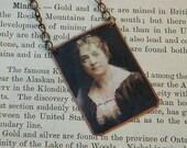 Moina Michael necklace Poppy Lady womens history jewelry mixed media jewelry