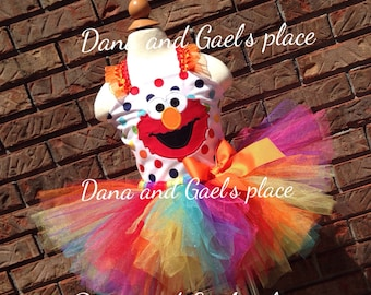New  birthday Elmo tutu and top