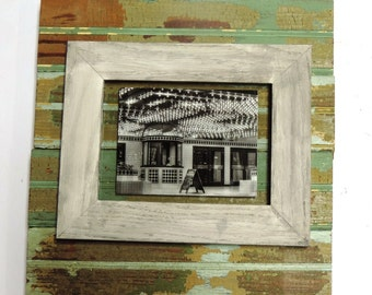 Backing Frame made with reclaimed Bead Board, from an old train depot select size or made to order FREE SHIPPING USA