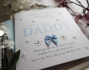 Beautiful Handmade Card for Daddy!