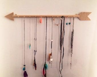 Gold Arrow Jewelry Hanger
