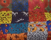 Chiffon African Print Fabric Ankara Chiffon Classic Patchwork  African Print Hollandais Wax Chiffon Fabric ( Price Per 1 Yard)