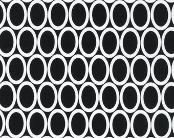 Remix by Anne Kelle for Robert Kaufman - Black - 1/2 yard cotton quilt fabric 516