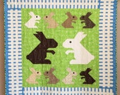 Bunny Family wall quilt