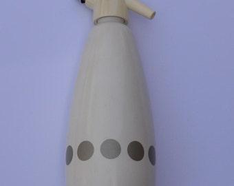 Vintage Seltzer Bottle by BOC Made in EnglandVintage Soda Syphon Vintage Breweriana Vintage Barware Retro Seltzer Bottle