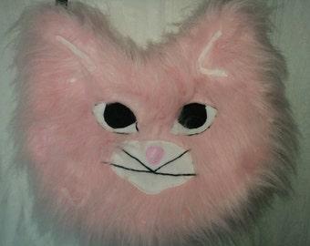 Faux Fur Cat Face Bag