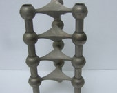 Reserved Sale Pending Nagel Set of Four Candle Stick Holders c 1970