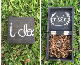Customized Ring Bearer Box