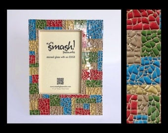 Cabana - 5x7 Glass Mosaic Picture Frame