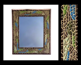 Smash - Glass Mosaic Mirror