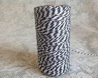 Black Twine cording - 5 yds