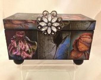 Gothis Rose Decorative Box