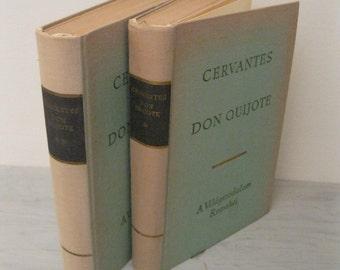 Vintage Hungarian Novel - Az Elmes Nemes Don Quijote De La Mancha - Don Quixote - 1966 - Classic Fiction