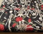 Black ARR Lifes Little Pleasure Nicole's Prints - Alexander Henry Fabric 1 Yard