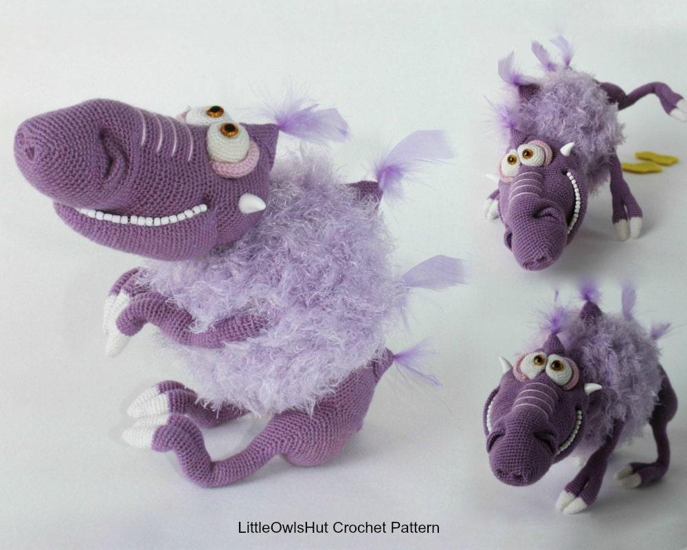 071 Bramblehog the Alien dog - Crochet+knitting(vest ...