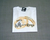 Ring Bearer King of the Rings Personalized Wedding T-Shirt