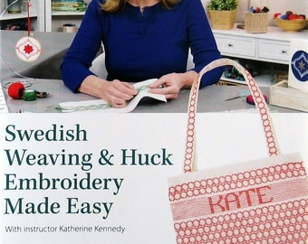 Swedish Weaving & Huck Embroidery Made Easy Video