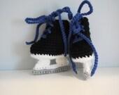 Baby Ice Hockey Skates - Crochet hockey skates
