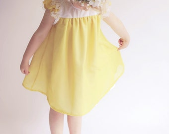 The Angel Dress Size 9-12m to 6 PDF Pattern