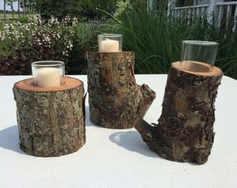 Trio Limb Votive Holders