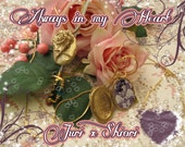 ON SALE ~~~~o·:*)) ~REVOLUTIONARY Girl Utena Juri Rose Locket One of a Kind