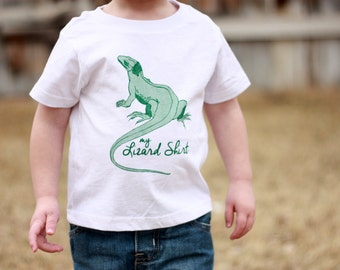 My Lizard Shirt toddler t-shirt