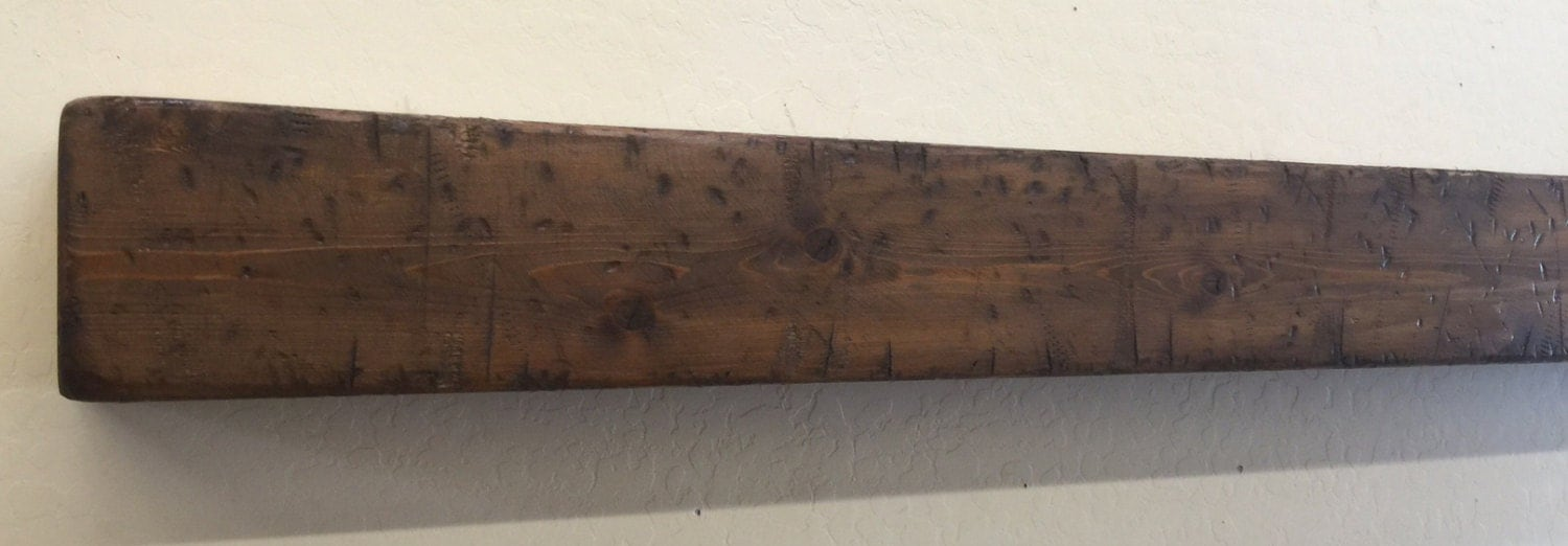 Wood Beam Mantle Fireplace Mantle Rustic Mantle Shelf