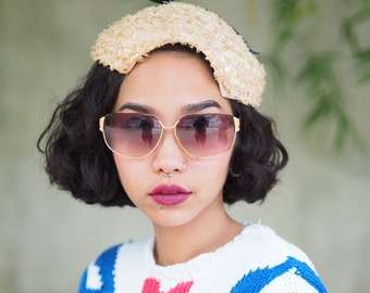 Vintage Tura Sunglasses 1990's Gold Plated Made In Japan