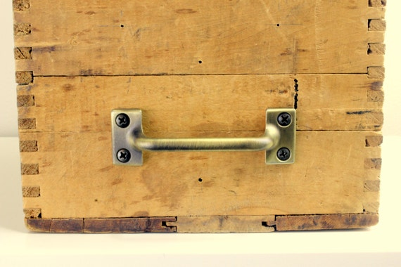 File Cabinet Drawer Pull Antique Brass Finish Cabinet