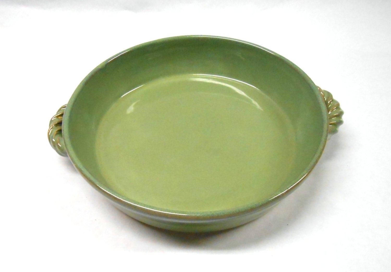 Pottery Casserole Ceramic Casserole Baking Dish By