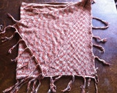 Ikat Shawl in Orange, Plum, Grey and Yellow by Laundry/Shelli Sigal