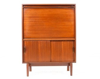 Mid Century Modern Beaver and Tapley Bar in Mahogany