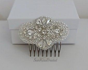 Small Crystal Bridal Hair Comb