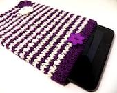 "Kindle fire HD 8.9 sleeve-crochet Kindle cover-tablet sleeve-Ipad sleeve-10""by7"" sleeve-cover"