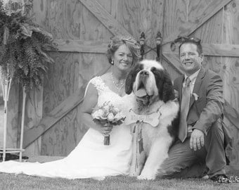 RING BEARER Dog Ring Bearer Sign for A Large Dog