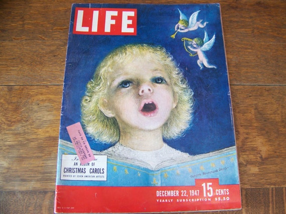 Life Magazine December 22 1941 Budweiser Beer Near Mint Condition