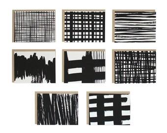 Brushstrokes Assorted Set