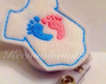NICU Badge holder-Nicu ID Holder- Nicu retractable badge-Nicu Lanyard- Nicu Badge reel-nicu ID badge reel-Neonatal Nurse Badge