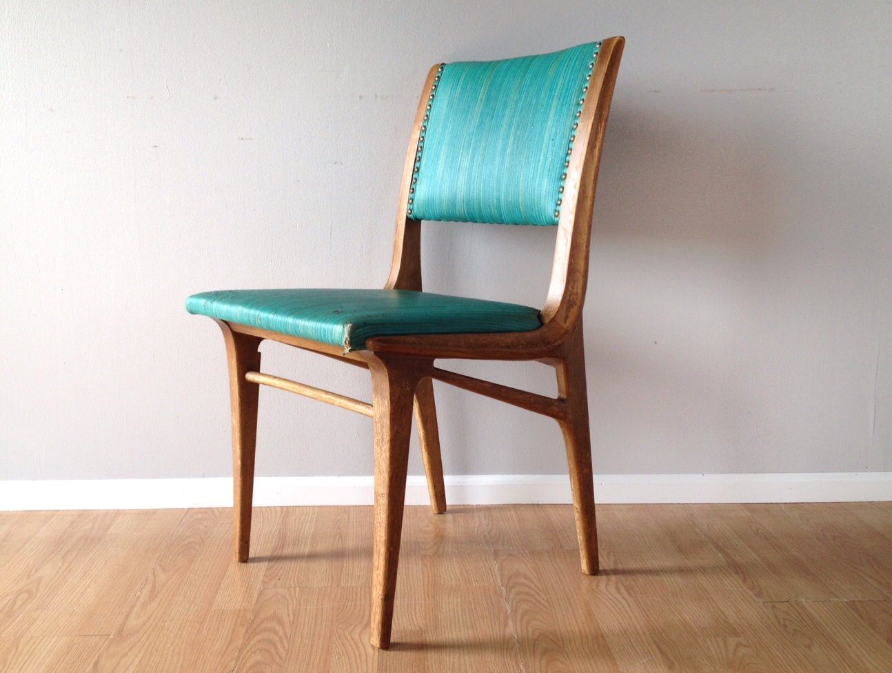 Vintage 1950s drexel dining chair retro mid century modern for Retro modern dining chairs