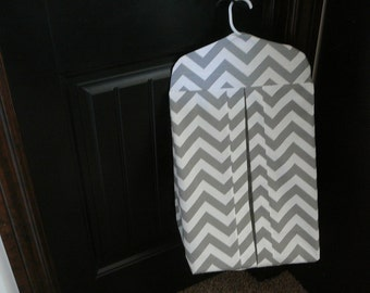 Diaper Stacker in Zigzag