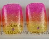 Pink Lemonade Instant Acrylic Nail Set