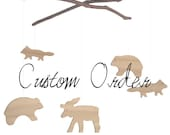 Woodland Mobile - Custom Order
