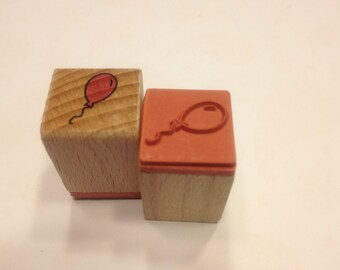 small balloon rubber stamp, 17 mm (SB1)