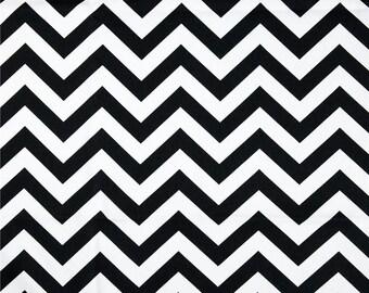 Black Table Runner-Black Table Cloth-Black and White Chevron Table Runner.