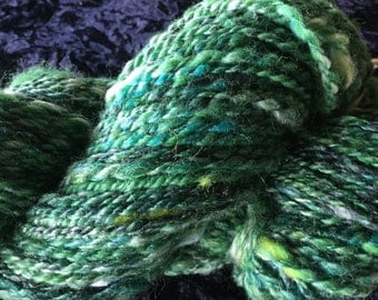 Shades of Green Art Yarn